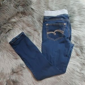 Justice Elastic Waistband with Drawstring Jeans